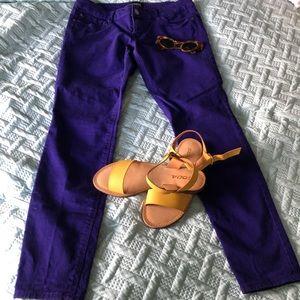 Express Jeans Stella Regular Fit Low Rise Leggings